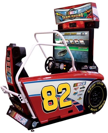 Sitdown Race Car Arcade Game For Sale